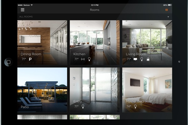 savant app home security cameras