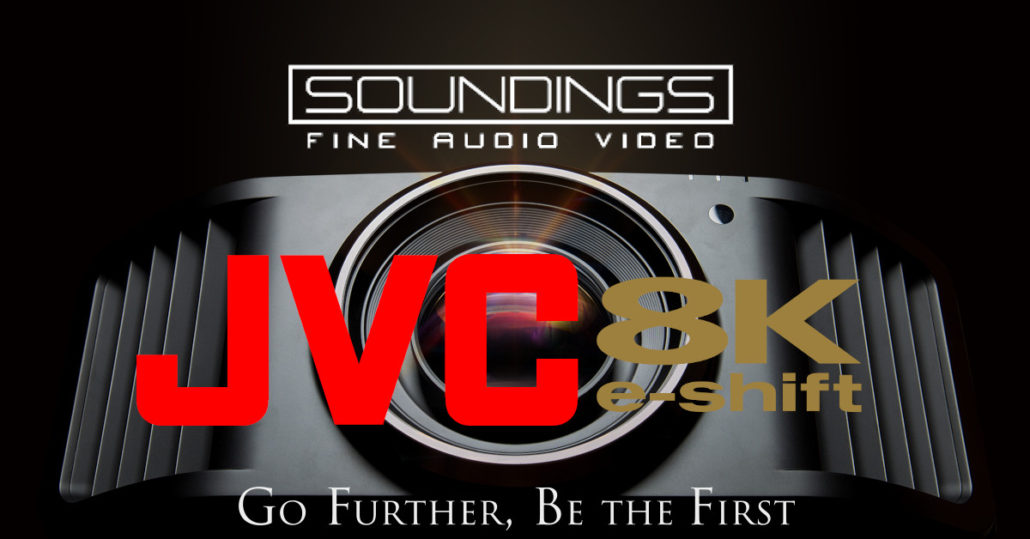 Soundings JVC 8k Projector Event Banner
